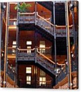 Bradbury Building Atrium Acrylic Print
