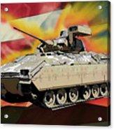 Bradley M2 Fighting Vehicle Acrylic Print