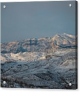 Bradost In The Winter Acrylic Print