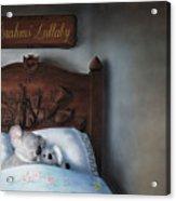 Brahms' Lullaby Acrylic Print
