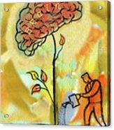 Brain Care Acrylic Print
