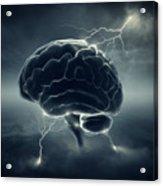 Brainstorm Acrylic Print