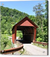 Braley Covered Bridge Acrylic Print
