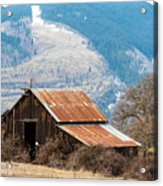 Bramble Bound Barn Acrylic Print