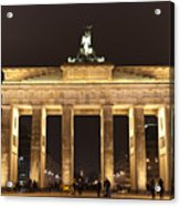 Brandenburg Gate Acrylic Print