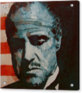 The Godfather-brando Acrylic Print