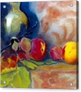 Brass And Peaches Acrylic Print