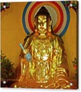 Brass Buddha Emei Acrylic Print