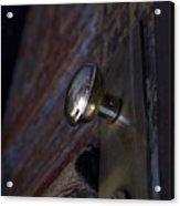 Brass Door Knob I Acrylic Print