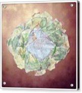 Brass Flower Acrylic Print