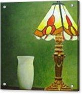 Brass Lampshade Acrylic Print