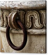Brass Ring Rusted Acrylic Print
