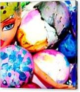 Brat Egg Head Acrylic Print