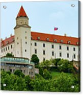 Bratislava Castle One Acrylic Print