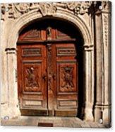 Bratislava Doors Acrylic Print