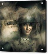 Brave Army Pinup Acrylic Print