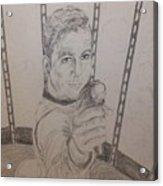 Brave Kirk Acrylic Print