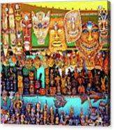Brazilian Masks Acrylic Print
