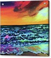 Brazilian Sunset Acrylic Print