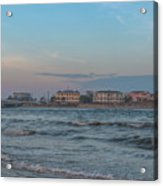 Breach Inlet Water Scape Acrylic Print