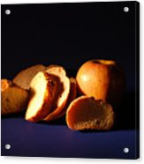 Bread And Apple Acrylic Print
