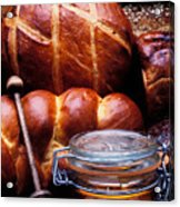 Bread And Honey Acrylic Print by Garry Gay