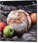 Bread Landscape Acrylic Print