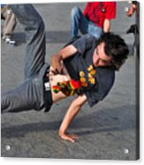 Break Dancer - Color Acrylic Print