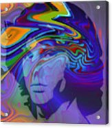 Break On Through Acrylic Print by Steve K