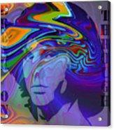 Break On Through Two Acrylic Print by Steve K