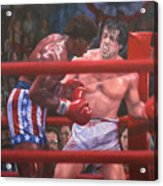 Breakin' Ribs - Rocky Acrylic Print