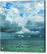 Breaking Clouds In Key West, Florida Acrylic Print