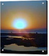 Breaking Dawn In The Big Ac Acrylic Print