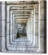 Breaking Through The Forth Wall Acrylic Print