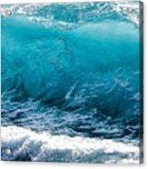 Breaking Wave At Kekaha Beach Acrylic Print