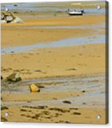 Breakwater Flats Acrylic Print