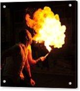 Breath Of Fire Acrylic Print