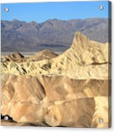 Breath Taking Landscape Of Zabriskie Point Acrylic Print