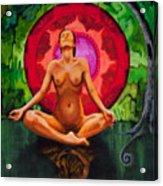 Breathe Like A Monk Acrylic Print