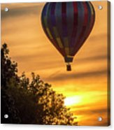 Breathtaking Hot Air Acrylic Print