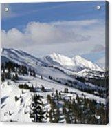 Breckenridge Resort Colorado Acrylic Print by Brendan Reals