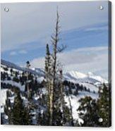 Breckenridge Resort In Summit County Colorado Acrylic Print