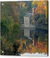Breck's Mill Acrylic Print
