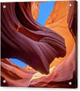 Breeze Of Sandstone Acrylic Print