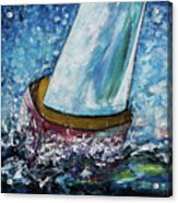 Breeze On Sails -2  Acrylic Print
