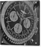 Breitling Chronometer Acrylic Print