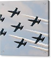 Breitling Jet Team Acrylic Print