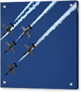 Breitling Team Crowd Pleases At Reno Air Races Acrylic Print