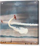 Breitling Wingwalker Biplanes Acrylic Print