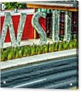 Brelsford Wsu Visitor Center Acrylic Print